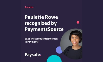Paysafe's Paulette Rowe recognized in PaymentsSource's 2021 'Most Influential Women in Payments'