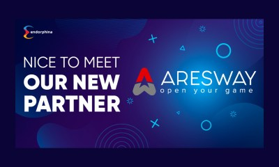 Endorphina partners with Aresway!