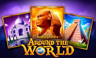 New Slot Game by Endorphina - Around The World