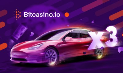 Bitcasino teams up with OneTouch for pioneering Tesla promotion