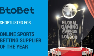 BtoBet Shortlisted For Coveted Online Sports Betting Supplier Of The Year Award At GGA London