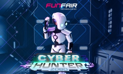 FunFair Technologies embarks on a futuristic crime-fighting adventure in CyberHunter 2080