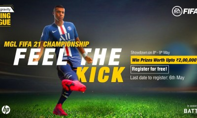 Microgravity Gaming League to host India's biggest FIFA 21 tournament