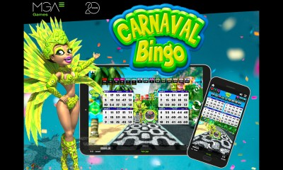 MGA Games' Carnaval Bingo is back, this time with a new fully immersive version