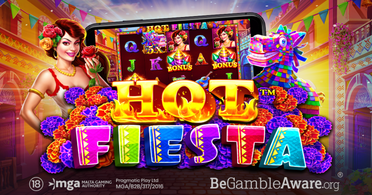 PRAGMATIC PLAY GETS THE PARTY STARTED IN HOT FIESTA