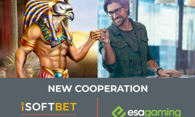 ESA Gaming content live with iSoftBet's GAP platform
