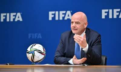 FIFA: President Infantino addresses G20 on tackling corruption in sport