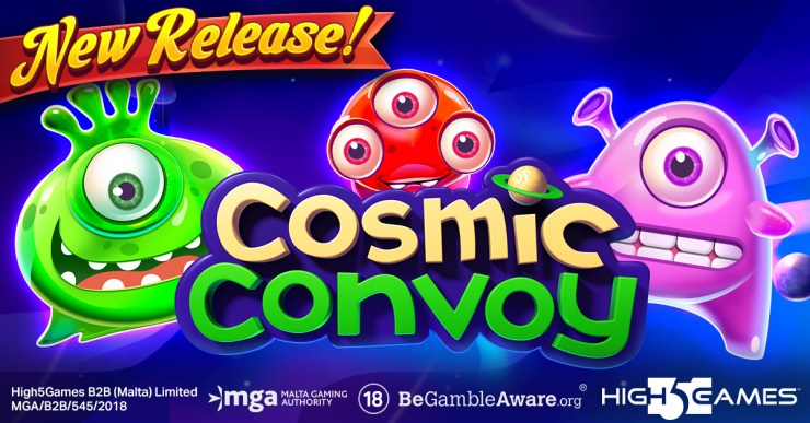 Go on a Cosmic Convoy to start Racking Up Riches in High 5 Games' newest release