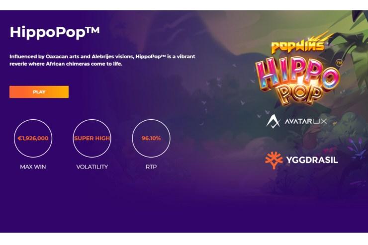 Yggdrasil dan AvatarUX meluncurkan slot psikedelik HippoPop™