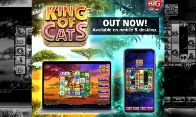 BTG'S KING OF CATS IS TWO GAMES IN ONE, THANKS TO WORLD-FIRST PLAYERSELECTTM MODE