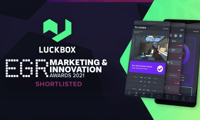 Real Luck Group Ltd's Luckbox shortlisted for two EGR Marketing & Innovation Awards