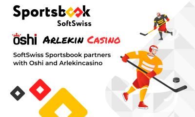 SoftSwiss Sportsbook launches with Oshi and Arlekincasino