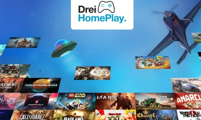 CKH Innovations Opportunities Development partners with Blacknut to provide cloud gaming services; Drei Austria the first to launch with 'Drei HomePlay'