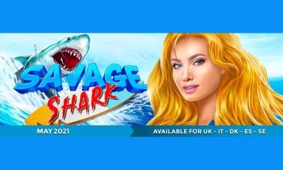 Videoslots gets its teeth into Leander Studios' Savage Shark first
