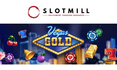 Vegas Gold brings a touch of Vegas to Slotmill