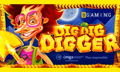 Grab all the gold in the Dig Dig Digger slot by BGaming!