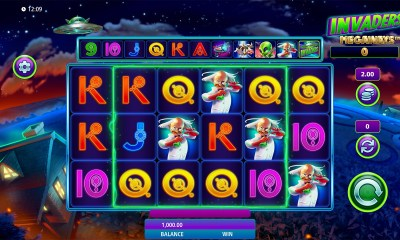 Scientific Games Launches Eagerly Anticipated New iGaming Slot Invaders Megaways™