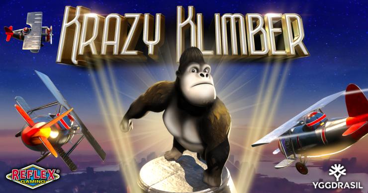 Yggdrasil and Reflex Gaming prepare for sky-high adventure in Krazy Klimber