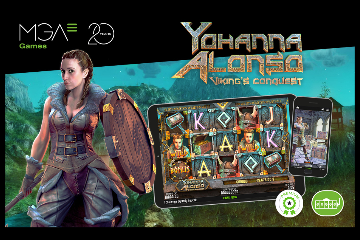 Yohanna Alonso Viking's Conquest from MGA Games, in all main online casinos