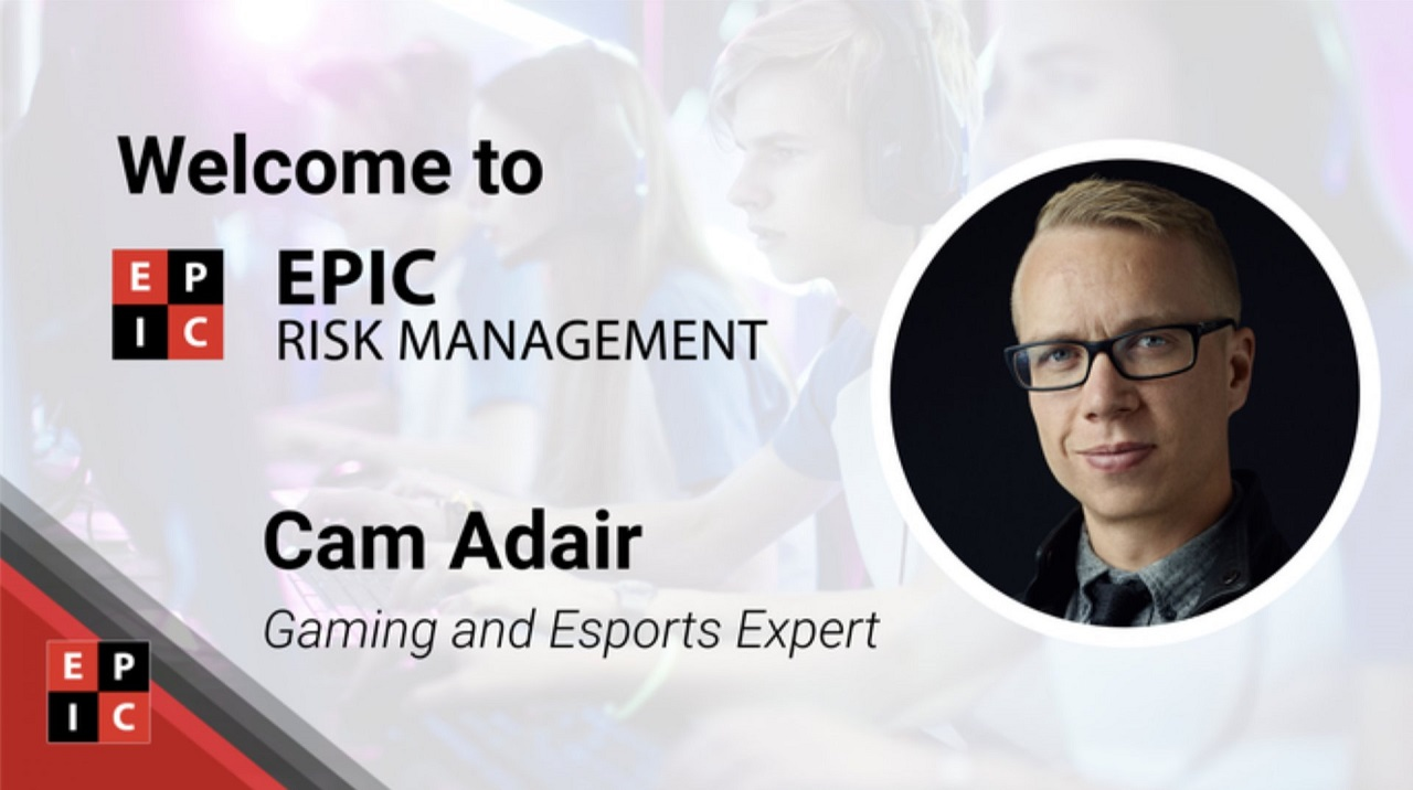 EPIC hire Online Gaming and Esports expert Cam Adair