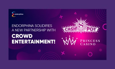 Endorphina solidifies a new partnership with Crowd Entertainment