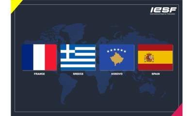 IESF Welcomes France, Greece, Kosovo and Spain as New Members to the World Esports Family