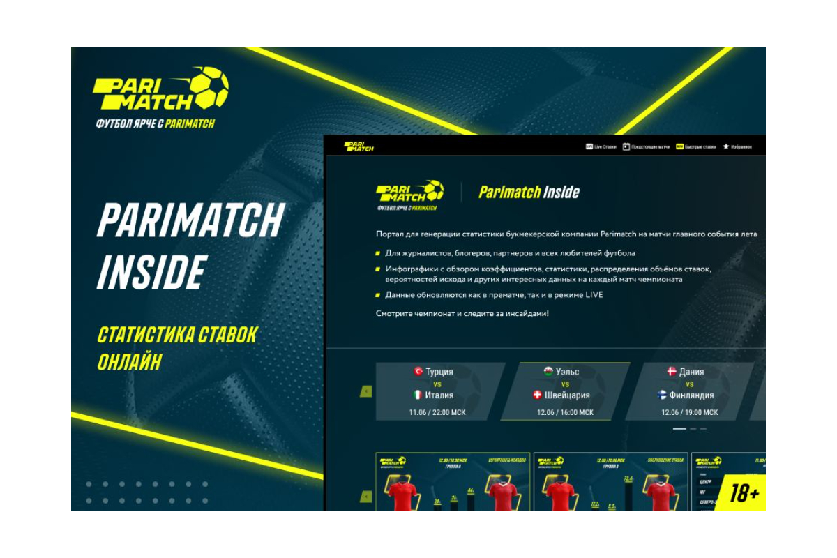 Betegy partners with Parimatch for innovative European Championship portal project