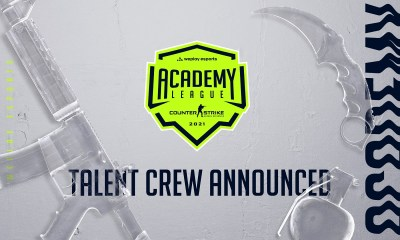 WePlay Academy League Season 1 talent crew announced