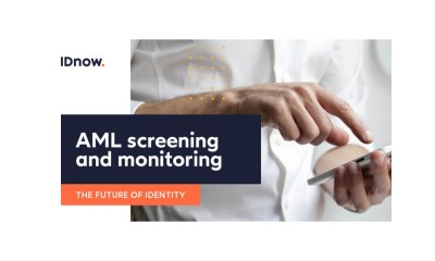 IDnow offers AML screening and monitoring