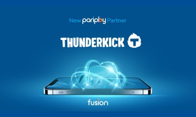 Pariplay adds Thunderkick slots content to Fusion™ platform