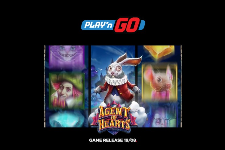 New Play'n GO Game Release - Agent of Hearts