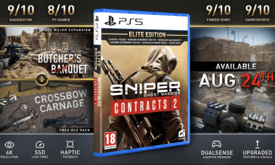 SNIPER GHOST WARRIOR CONTRACTS 2 GETS DEPLOYED ON PS5, TAKING FULL ADVANTAGE OF NEXT-GEN FEATURES WITH MOST IMMERSIVE VERSION YET