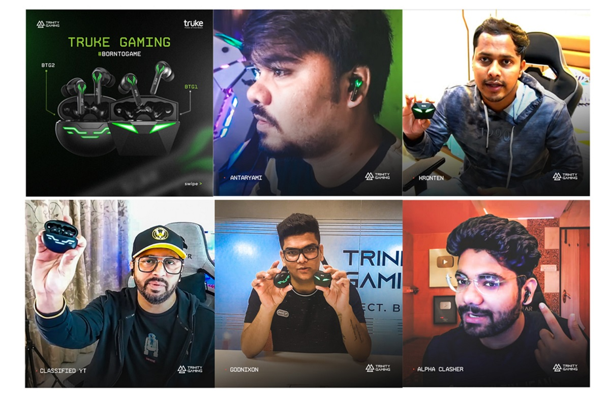 TRUKE COLLABORATES WITH TRINITY GAMING'S ACE CREATORS FOR THEIR EARBUDS PRODUCT LAUNCH DIGITAL CAMPAIGN