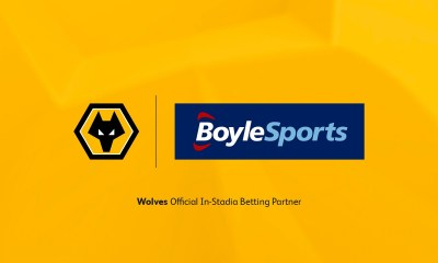 Wolves extend partnership with BoyleSports