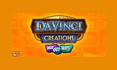 High 5 Games' Latest Masterpiece, Da Vinci Creations, Drops August 26th