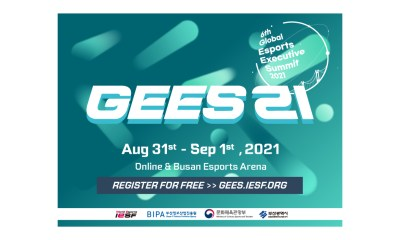 IESF Announces Speakers for First Day of GEES21 on August 31