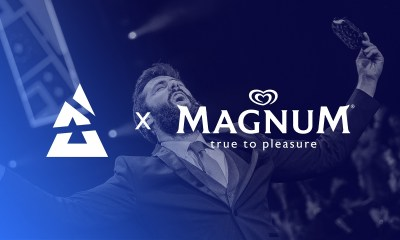 BLAST Premier teams up with Magnum to promote ice cream delivery service