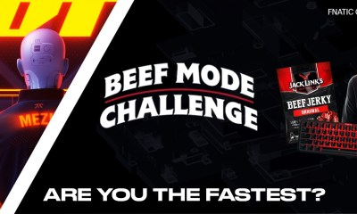 'Fnatic and Jack Link's launch the Beef Mode Challenge!