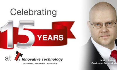 15 years' service for ITL Customer Support Manager Mirko Zwing