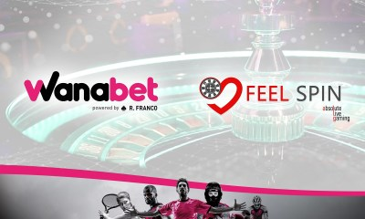 R. Franco Digital platform Wanabet boosts live casino offering with FeelSpin