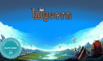 2D Top-Down Massively Multiplayer RPG Wyvern Wins Fan Favorite Vote 27 at GDWC 2021!