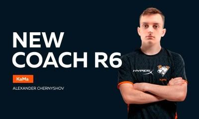New Virtus.pro coach in Rainbow Six Siege