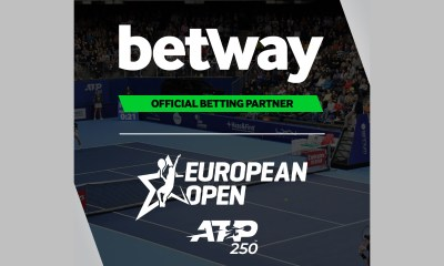The European Open joins Betway's growing tennis sponsorship portfolio