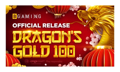Grab riches with Dragon's Gold 100: BGaming launches its first asian-style slot!