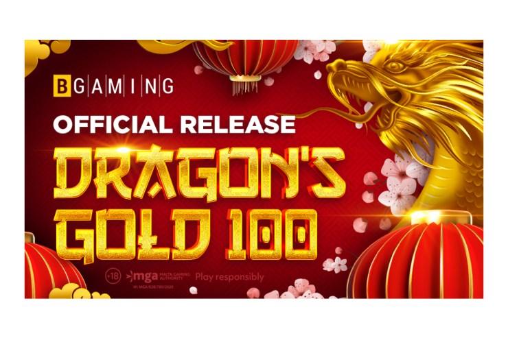 Raih kekayaan dengan Dragon's Gold 100: BGaming meluncurkan slot bergaya Asia pertamanya!