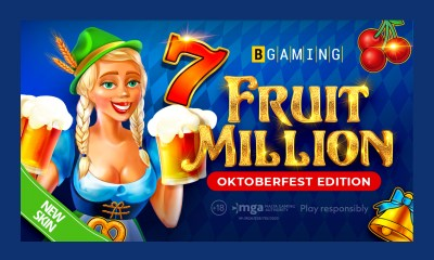 Celebrate Oktoberfest with BGaming: Fruit Million slot changes its look to Bavarian!