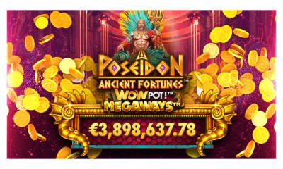 Microgaming's Ancient Fortunes™: Poseidon WowPot Megaways™ hit for €3.8 million just days after launch