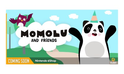 Nintendo Switch™ launch for Ferly and QubicGames' Momolu and Friends