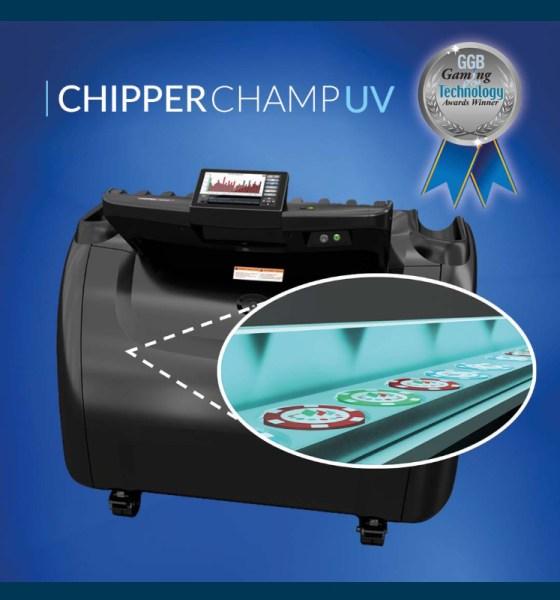 TCSJOHNHUXLEY celebrates GGB Gaming & Technology Award for Chipper Champ UV