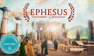 Roman Empire Survival & Exploration Game Ephesus Wins Fan Favorite Vote 31 at GDWC 2021!